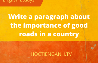 the importance of good roads in a country