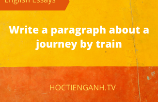 In about 140 words, write a paragraph about a journey by train