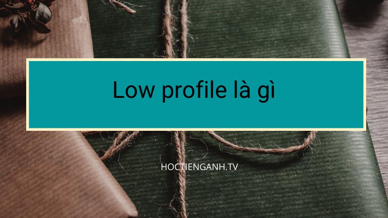 Low profile là gì?