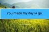 You made my day là gì?