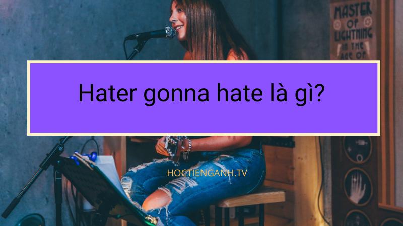 Hater Gonna hate là gì?