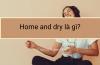 Home and dry là gì?