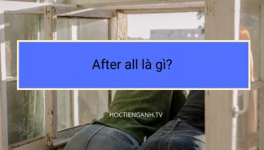 After all là gì?