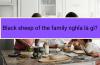 Black sheep of the family nghĩa là gì?